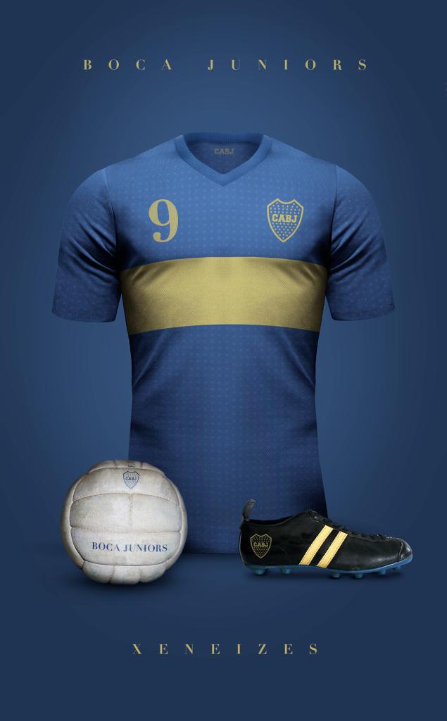 Boca Juniors  Fútbol Vintage