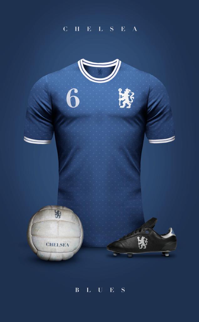 Chelsea  Fútbol Vintage