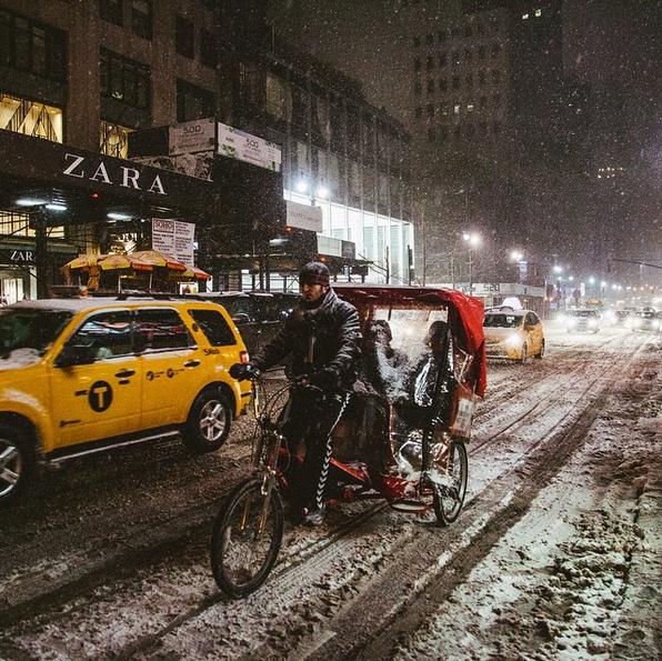 Las mejores imagenes de la tormenta de nieve en Nueva York