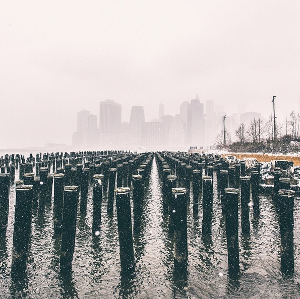 Las mejores fotos de la tormenta de nieve en Nueva York