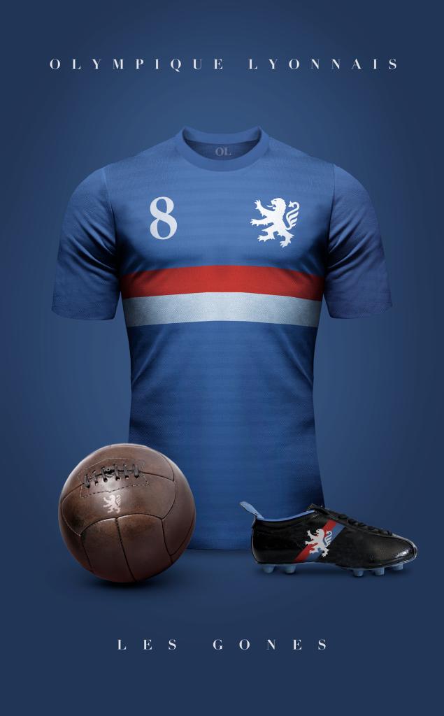 Lyon  Fútbol Vintage