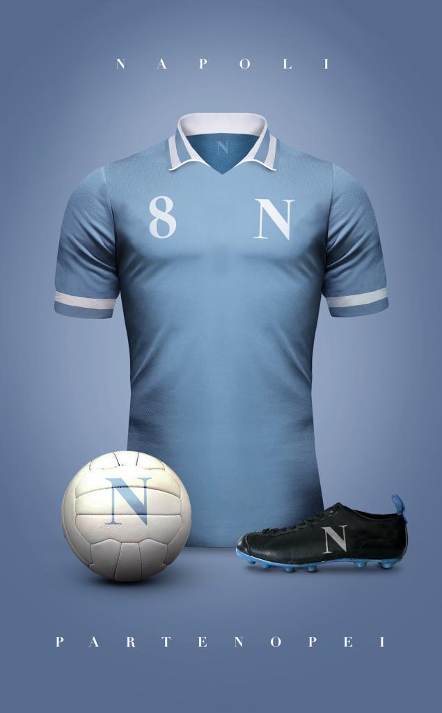 Diseño: Camisetas de Fútbol Vintage.