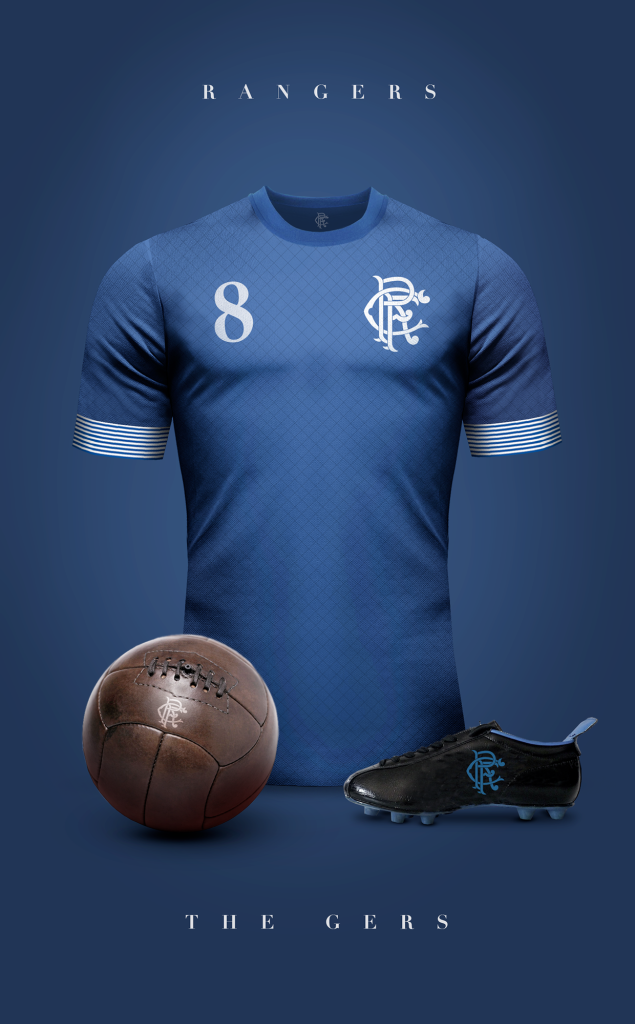 Rangers  Fútbol Vintage