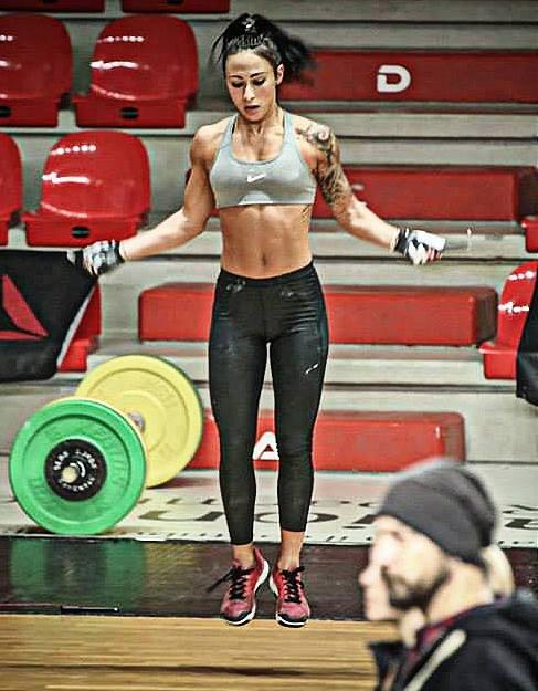 También tenemos a las chicas del CrossFit