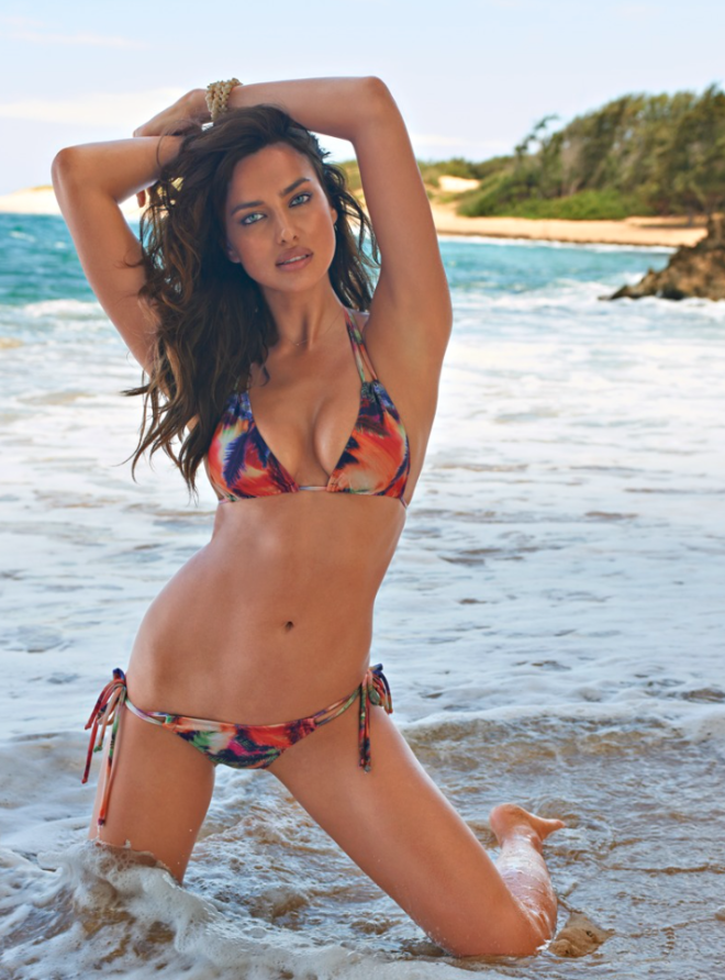 Irina Shayk en Sports Illustrated 2015