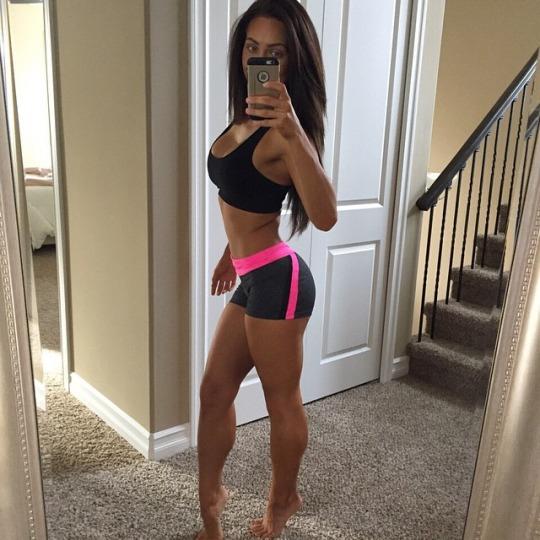 Short shorts para el gimnasio