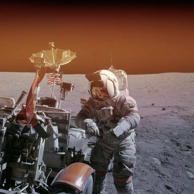 16 Fotos poco conocidas de viajes a la luna