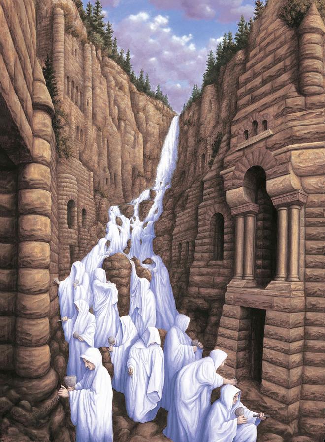 25 Ilusiones Ópticas de Robert Gonsalves