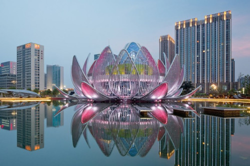 Arquitectura La Flor de Loto
