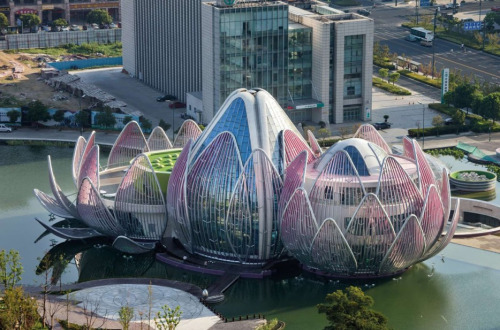 Arquitectura La Flor de Loto, China