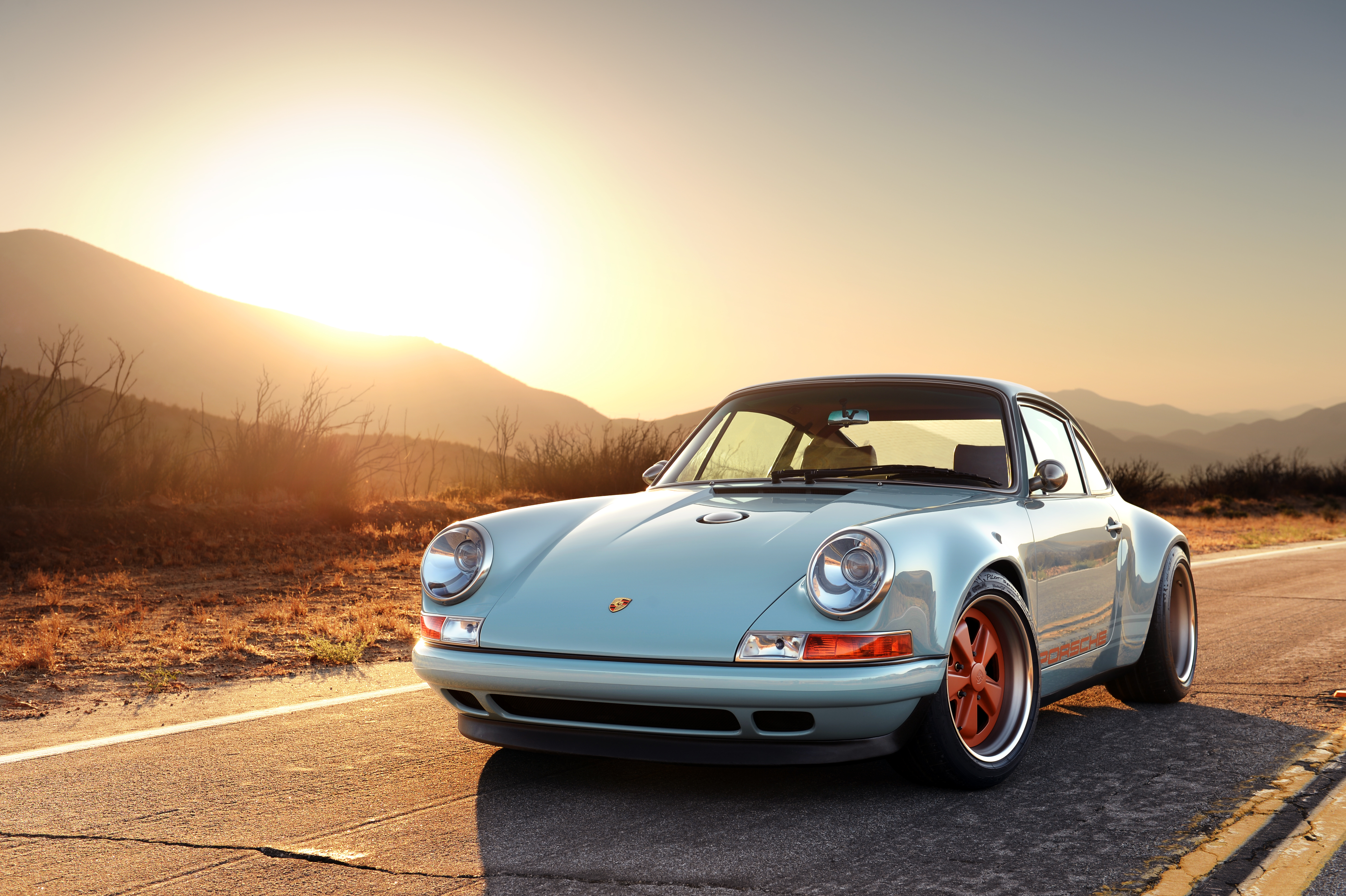 Porsche 911 personalizado por Singer Vehicle Design