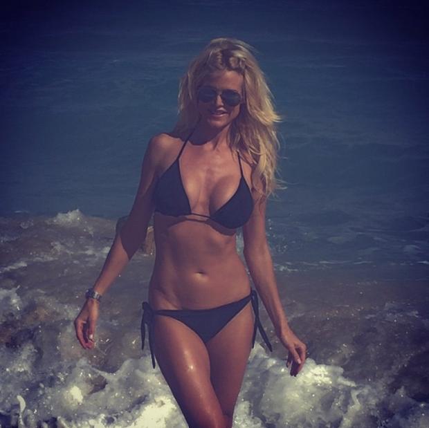 El sexy Instagram de Victoria Silvstedt