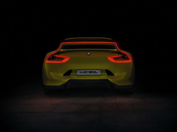 Para enamorarte este concepto BMW 3 CSL Series Coupé