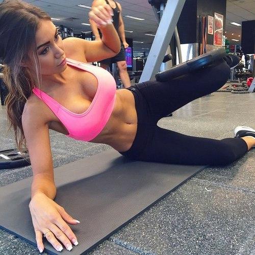 Las chicas del gym en yoga pants