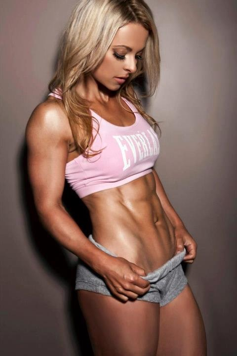 Ellas son mujeres del fitness