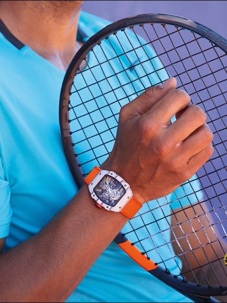 El reloj de Rafa Nadal para Roland Garros de $750,000 dólares