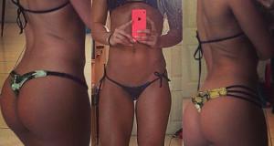 Así se ven las chicas del gym en bikini