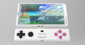Un smartphone de Nintendo se vería así