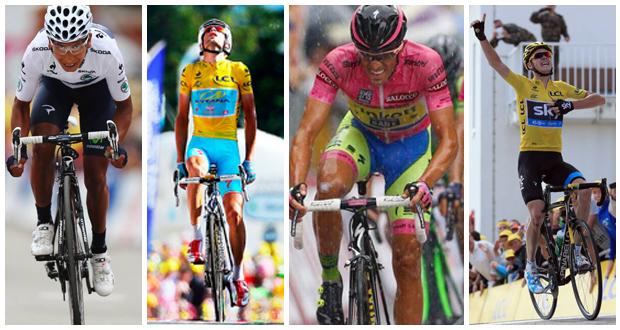 Los cuatro invencibles del Tour de Francia