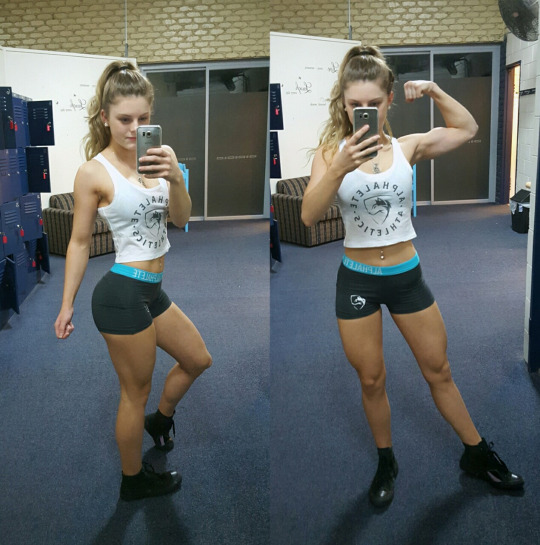 Chicas del gym + selfies