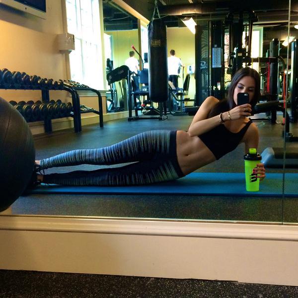 Los cuerpos del Gym ft. @JenSelter