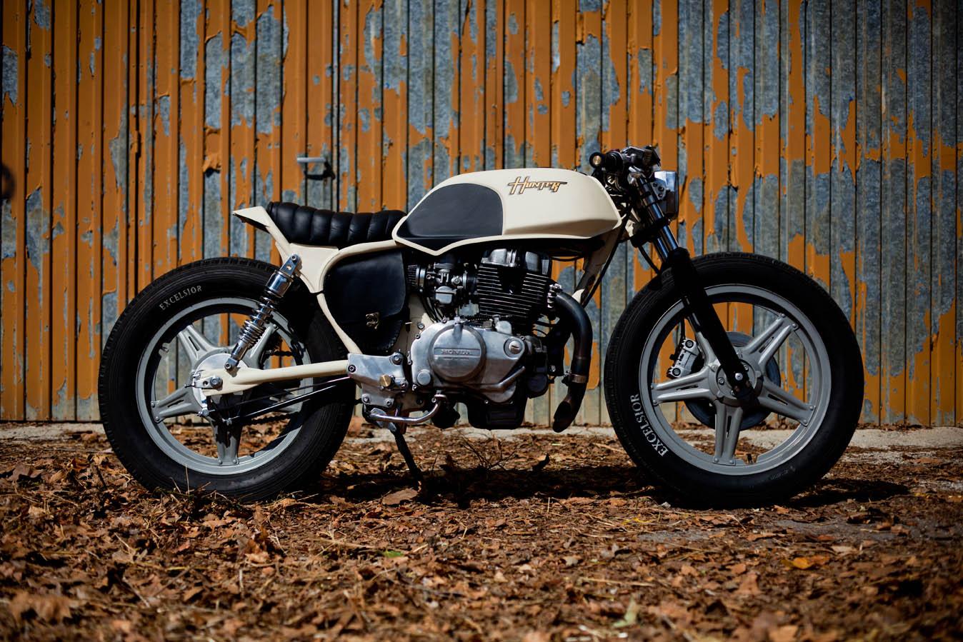 HUNTER la moto sexy del día