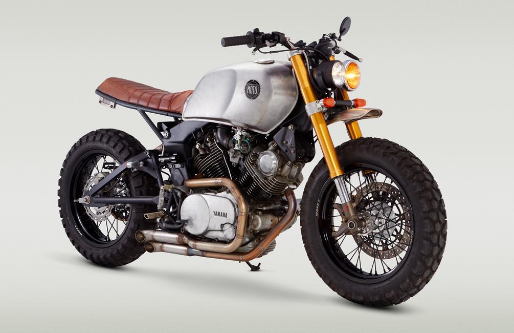 Free Range 920 una moto reconstruida e impresionante