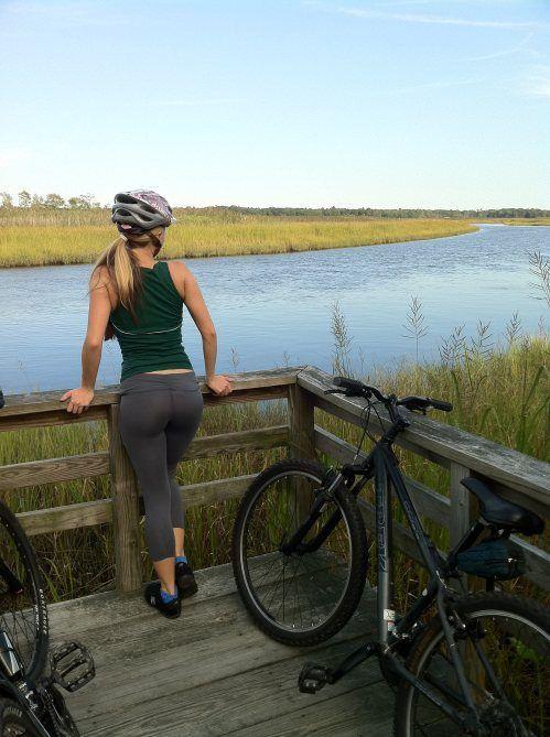 Ciclismo con las chicas del gym