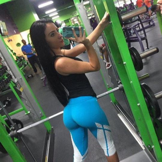 Los mejores culos del gimnasio