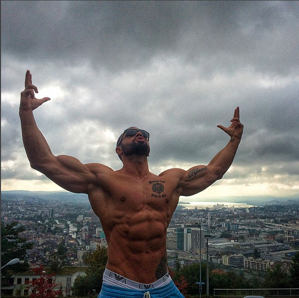 Motivación para ir a las pesas con Lazar Angelov
