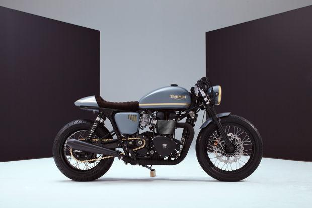 Moto Triumph Bonneville customizada a la perfección