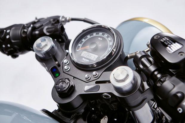 Moto Triumph Bonneville personalizada a la perfección