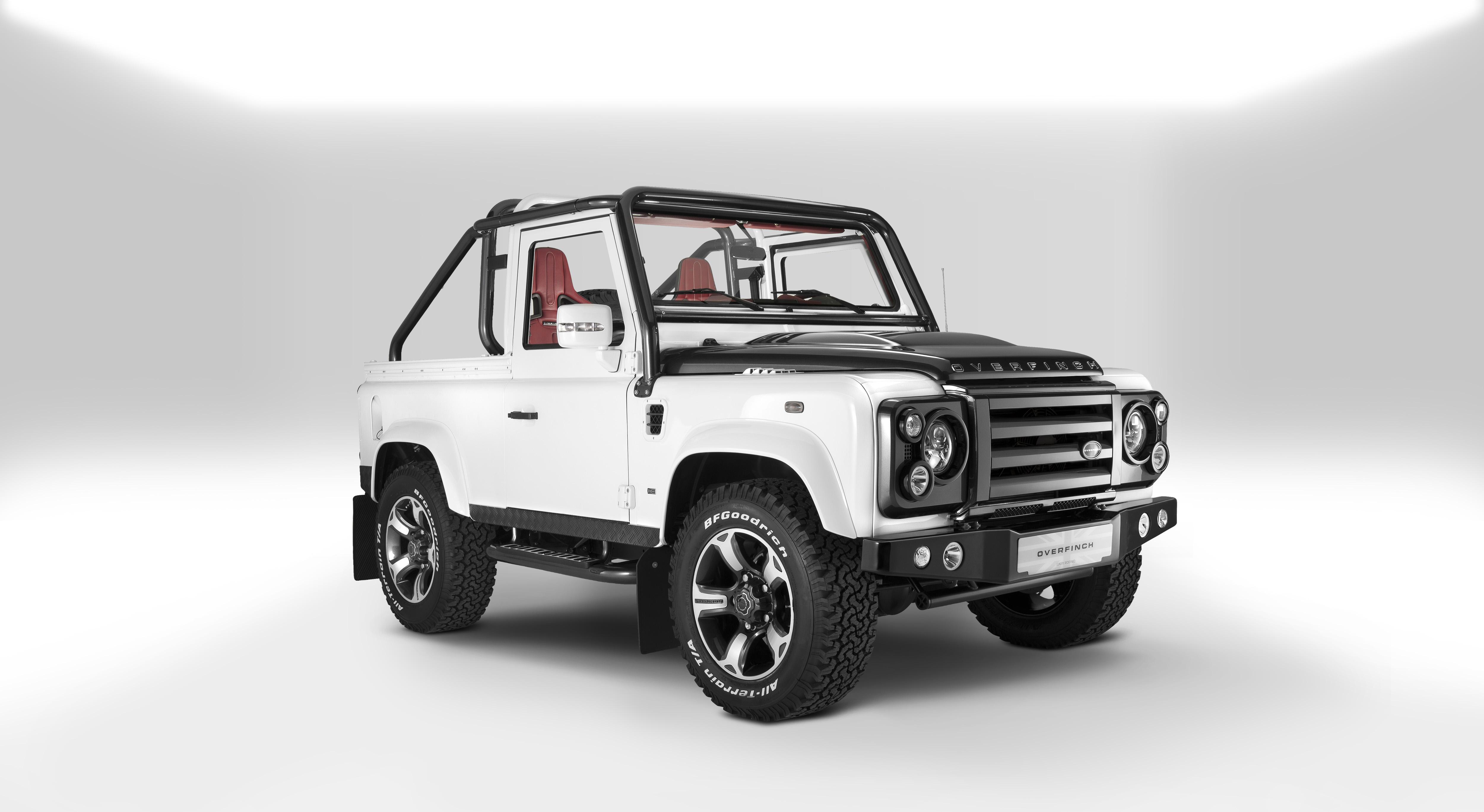 Increíble Land Rover Defender hecha a la medida