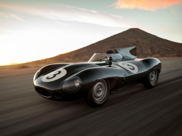 Sexy e irresistible 1956, Jaguar D-Type