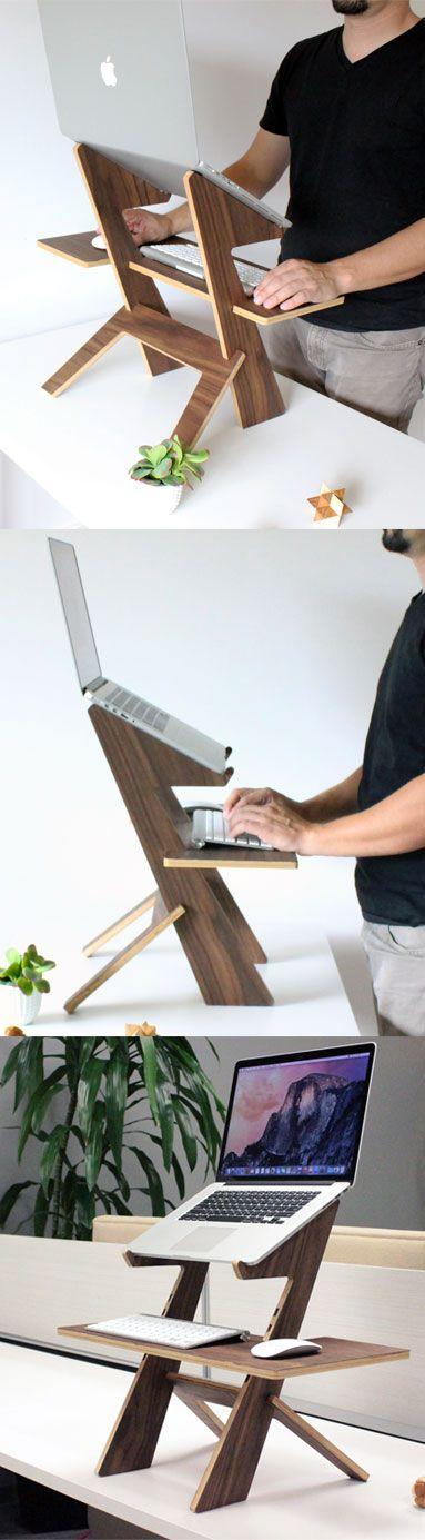 Diseño de Oficina: Escritorios elevados para trabajar de pie #14