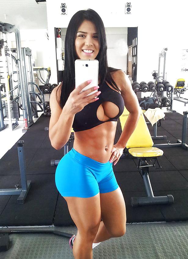 Los mejores selfies en el gym