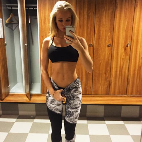 Los mejores selfies de las chicas del gym