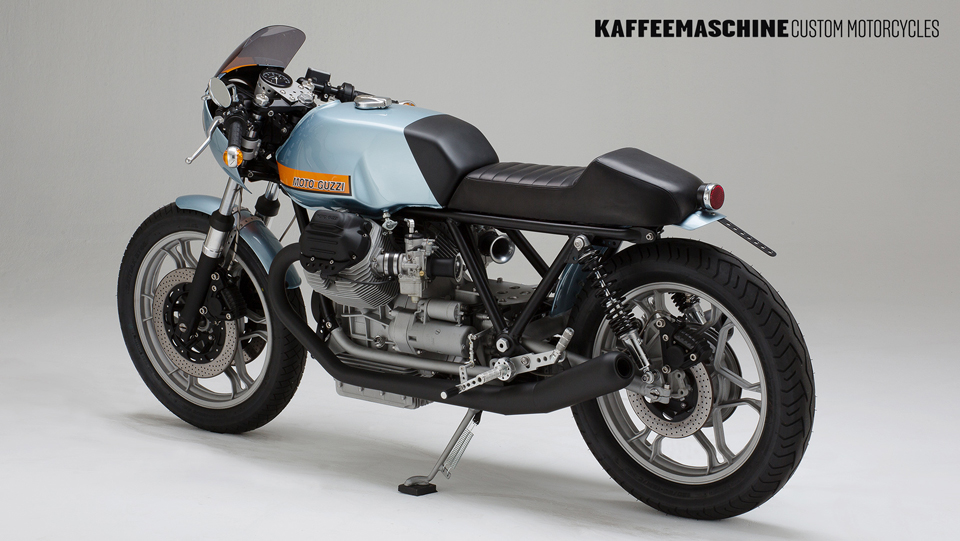 Una genial moto hecha a la medida por Kaffeemaschine
