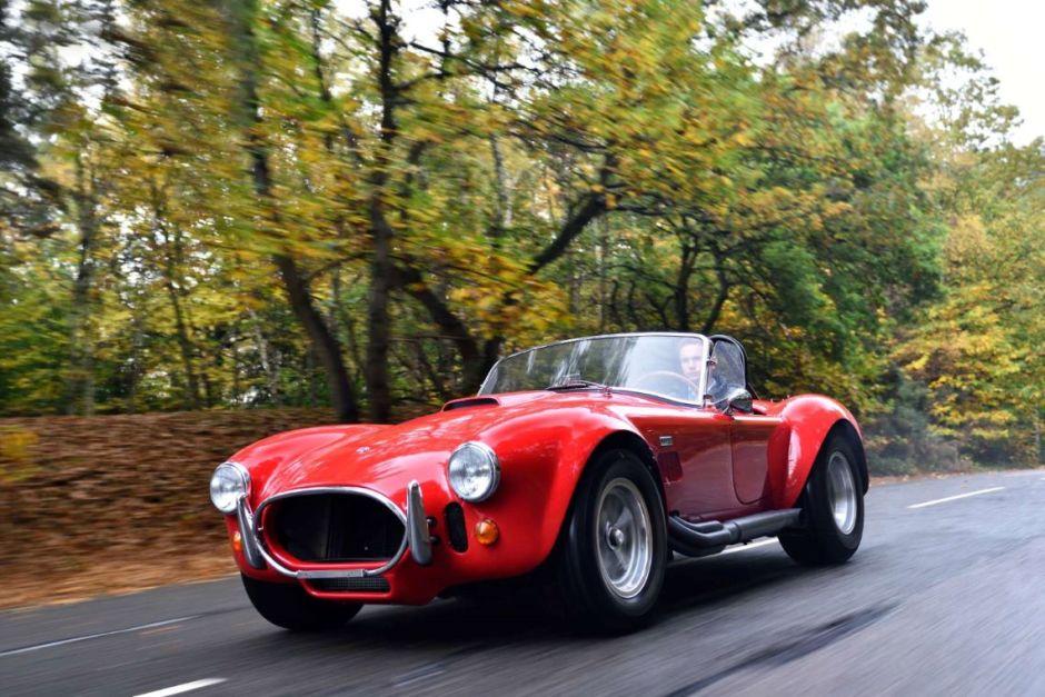Impresionante y clásico Shelby 427 Cobra de 1966