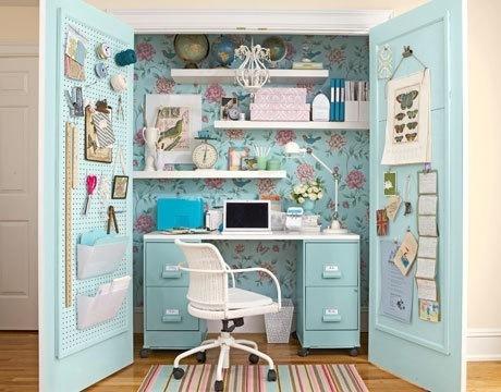 19 Ideas para pequeñas oficinas en casa #16