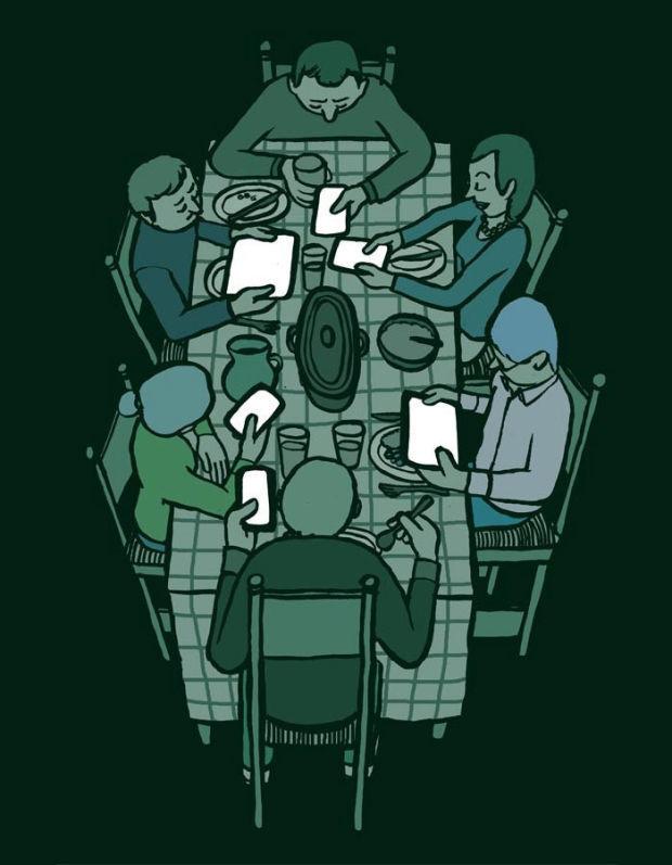 20 Ilustraciones de nuestra dependencia tecnológica