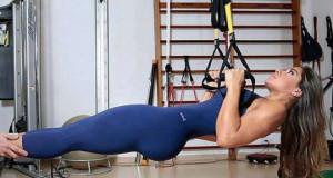 Cuerpos de tentación en el gym