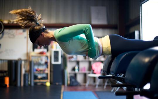Motivación para el ejercicio con las chicas del gym