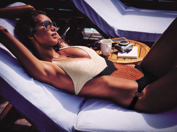 Los Angeles de Victoria Secret en Bora Bora