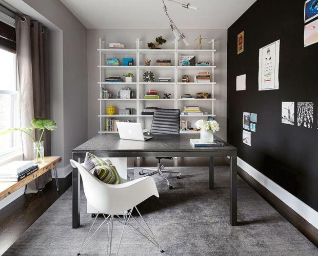 Dise o y decoraci n de interiores para oficinas en casa for Diseno de interiores oficinas modernas
