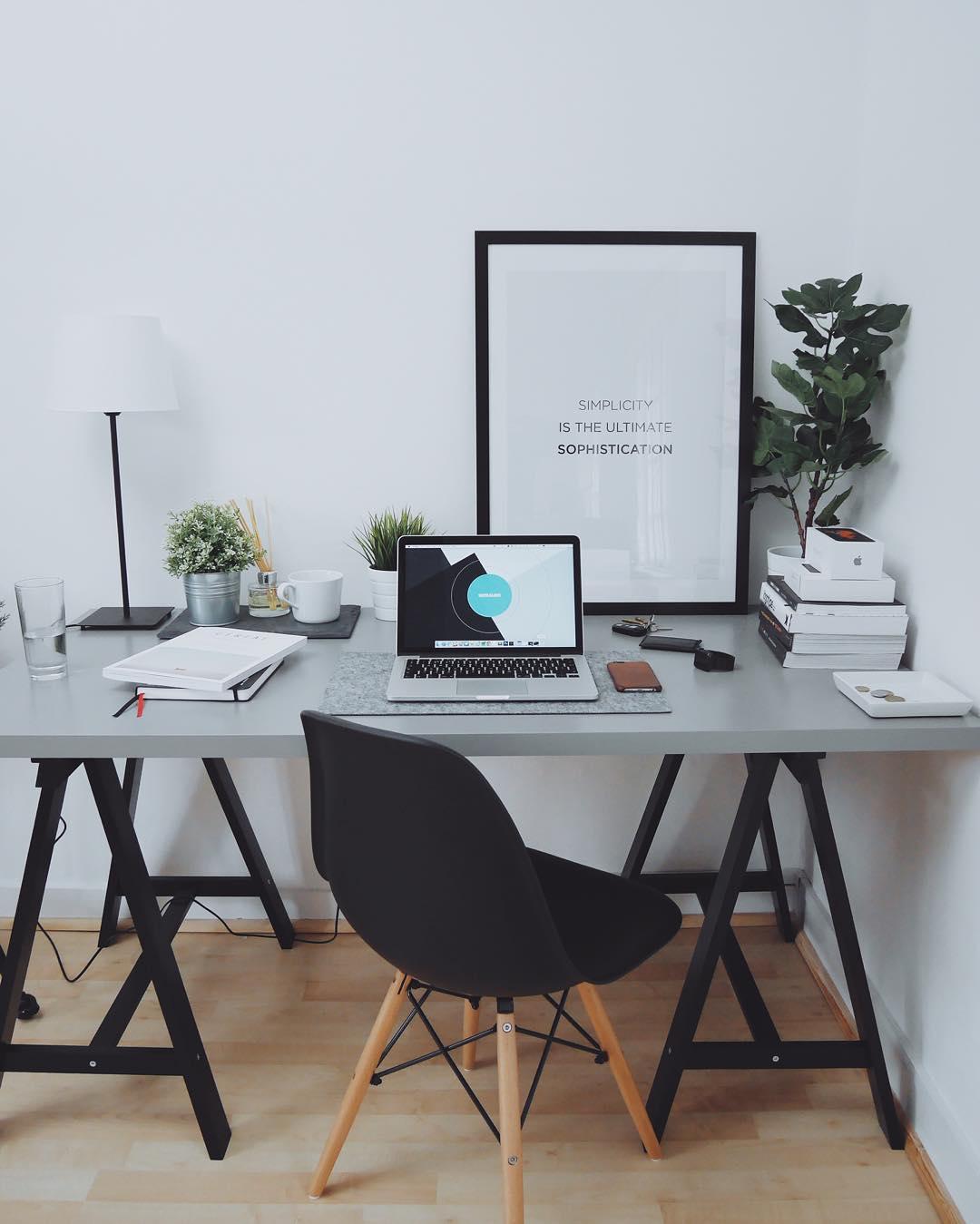 Las mejores oficinas en casa 23 el124 for Oficina moderna en casa