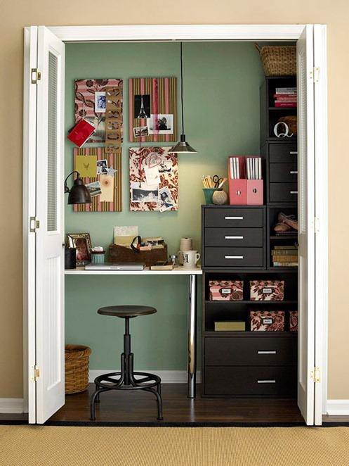 Ideas para oficinas en espacios pequeños #25