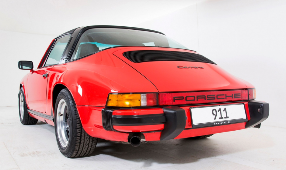 Clásico y deslumbrante Porsche 911 'G' de 1986