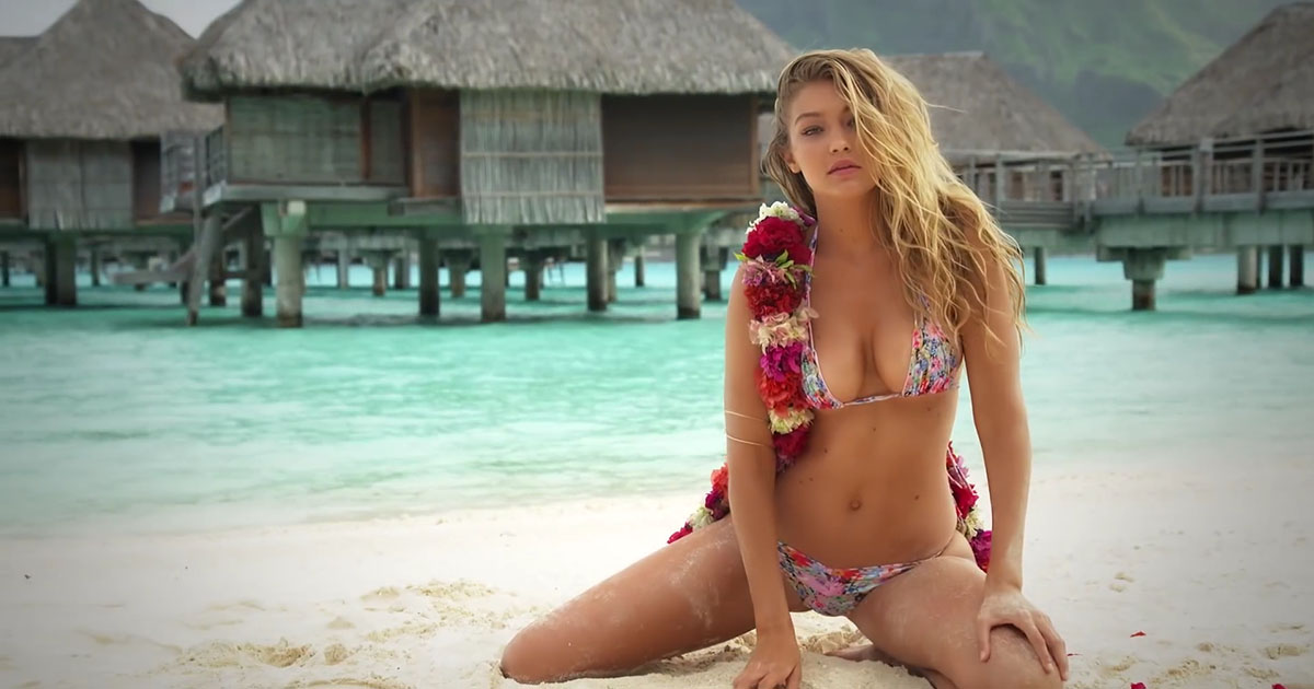 Gigi Hadid y Sports Illustrated para el fin de semana