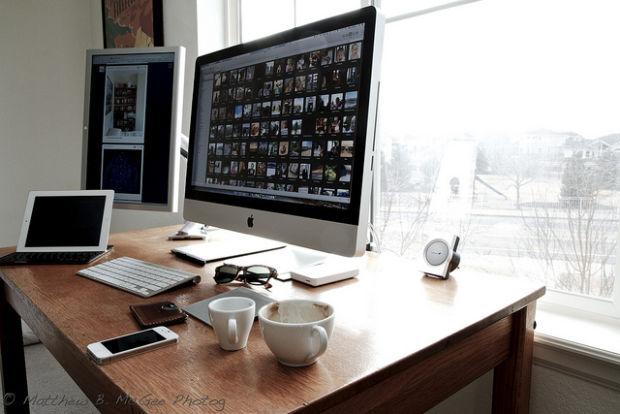 Inspiraci n en decoraci n y dise o para oficinas en casa 29 for Decoracion de oficinas en casa